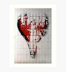 Heart 4 Wendy 3 Art Print