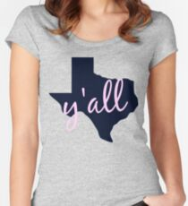 Texas - Home of Y'all Women's Fitted Scoop T-Shirt