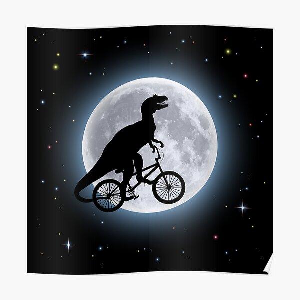 Dinosaur Moon Póster
