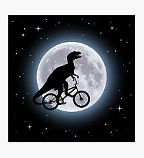 Dinosaur Moon Photographic Print