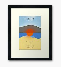 STN MTN Modified Text Framed Print