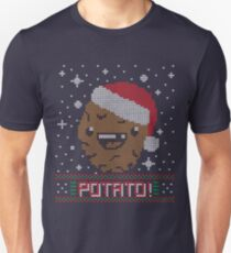 UGLY POTATO CHRISTMAS SWEATER ERMAHGERD!! Unisex T-Shirt