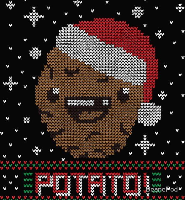UGLY POTATO CHRISTMAS SWEATER ERMAHGERD!! by BeanePod