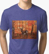 Fall Greetings Tri-blend T-Shirt