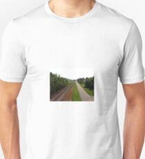 Two roads to discovery Unisex T-Shirt