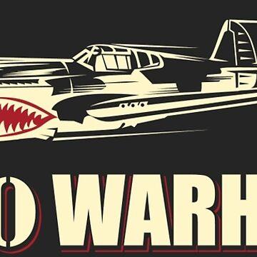 P-40 Warhawk by Downwind