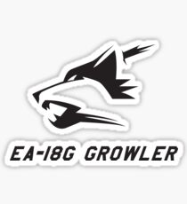 EA-18G Growler Sticker