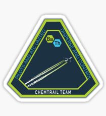 Chemtrail Dispersion Team Sticker