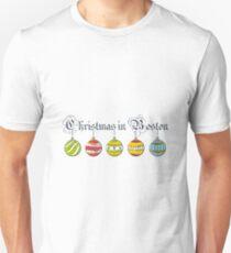 Christmas in Boston Balls T Shirt Unisex T-Shirt