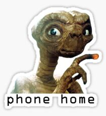 Phone Home Sticker