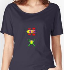 Arcade Love - Frogger Women's Relaxed Fit T-Shirt
