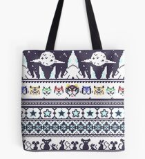 Space Lion Aesthetic Tote Bag