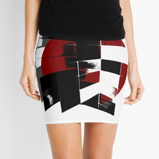 Flag Mini Skirt