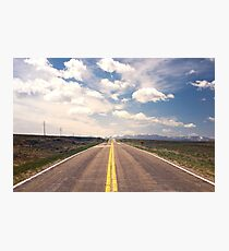 Explore New Roads Photographic Print