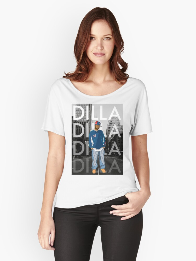 Dilla Women's Relaxed Fit T-Shirt Front
