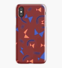 bowties v3 iPhone Case/Skin