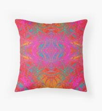 Port Dahlia Fantastical  Throw Pillow