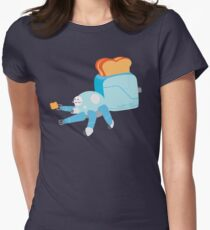 Toast in the Shell Womens Fitted T-Shirt