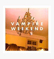 vampire weekend, vampire weekend Photographic Print