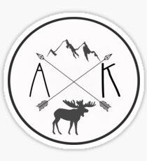Alaska is best version 2 Sticker