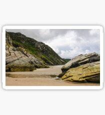 Rocks of Maghera Beach - Ireland #4 Sticker