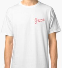 Anchovy Community Membership - red Classic T-Shirt