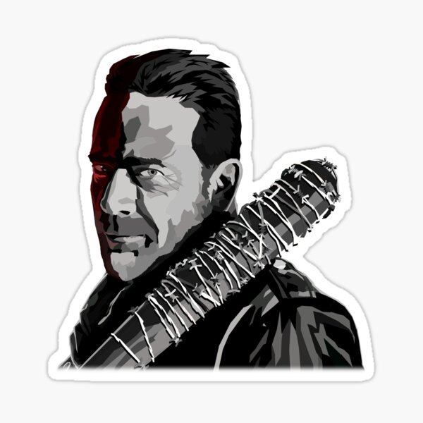 Negan and Lucille Sticker