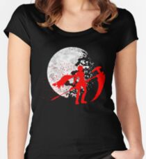 Moonlit Huntress Women's Fitted Scoop T-Shirt