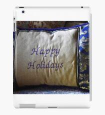 PILLOW ART-HAPPY HOLIDAYS-SERIES 5 iPad Case/Skin