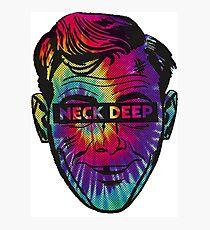 Neck Deep Tie-dye Photographic Print