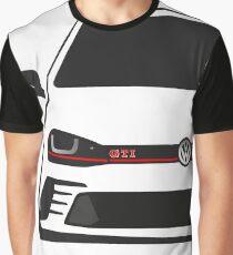 GTI 40 Years Half Cut Graphic T-Shirt