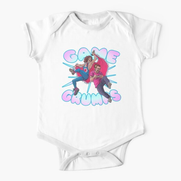 Game Grumps SHOUT Short Sleeve Baby One-Piece
