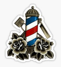Barber's Life Sticker