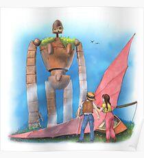 The Gardener - Castle in the Sky Poster