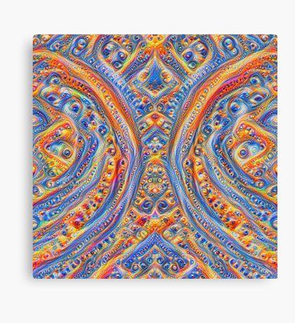 Innominatus #DeepDream Canvas Print