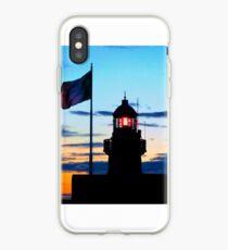 Lighthouse at Dusk, Dublin Bay iPhone Case