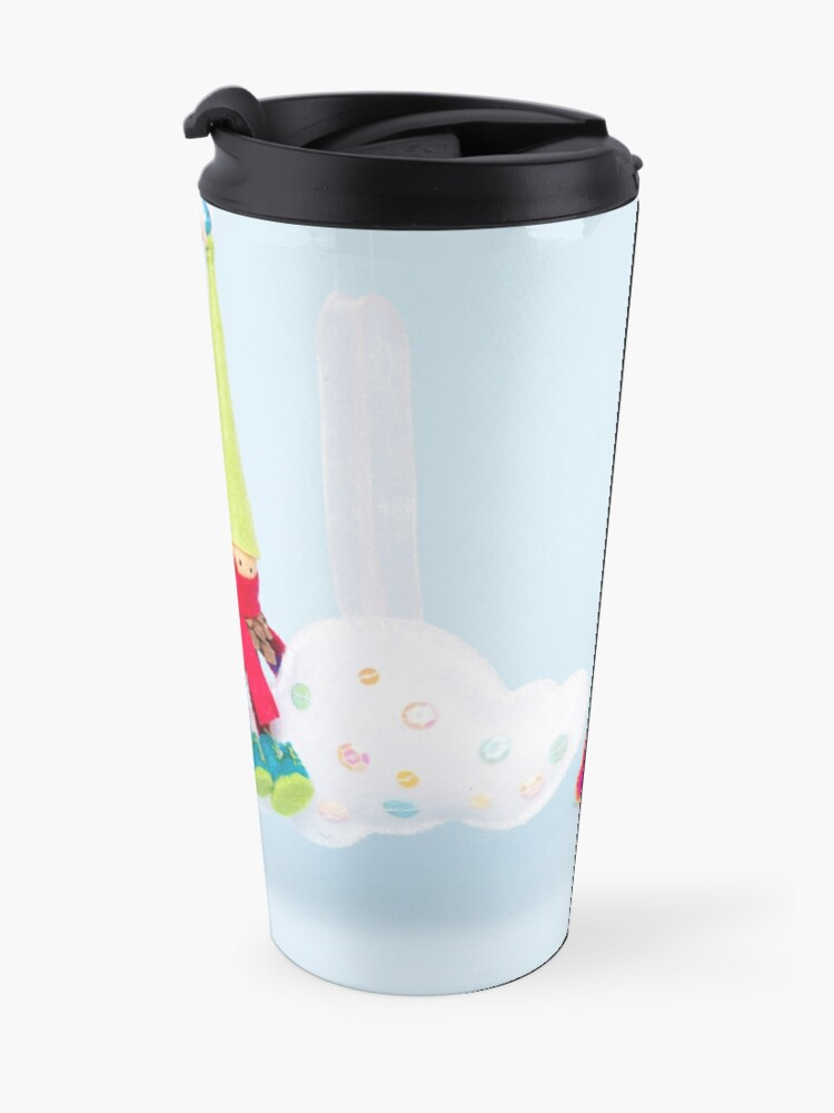 Alternate view of Head in the clouds Travel Mug