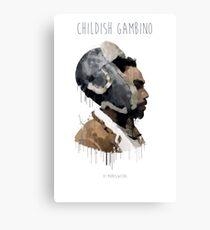 Gambino Droplet No Background Canvas Print