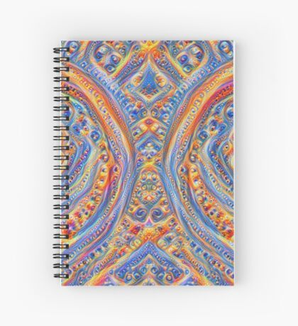 Innominatus #DeepDream Spiral Notebook