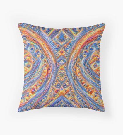 Innominatus #DeepDream Throw Pillow