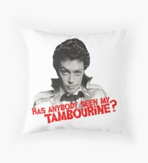 Anything Can Happen On Halloween Throw Pillow