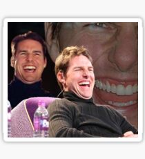 Tom Cruise Laughing MEME Sticker
