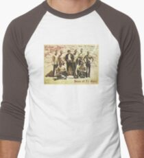 Greetings from San Quentin Men's Baseball ¾ T-Shirt