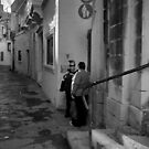 Corner Talk ---- Rabat Malta by Edwin  Catania