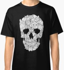 Camiseta clásica Cráneo de gato