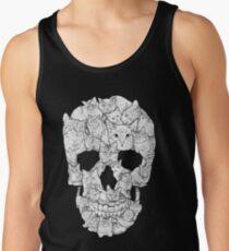 Camiseta de tirantes Cráneo de gato