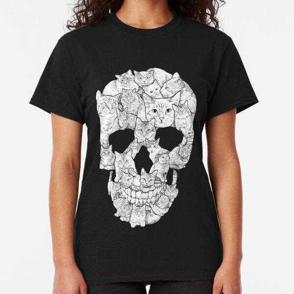 Cat Skull Classic T-Shirt