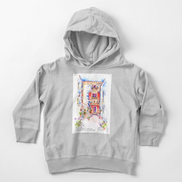 Entrance to La Bergerie, Trausse, France Toddler Pullover Hoodie