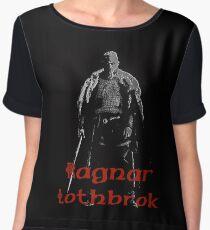 Black Ragnar Chiffon Top