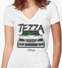 Toyota Altezza (Lexus IS200 / IS300) Women's Fitted V-Neck T-Shirt